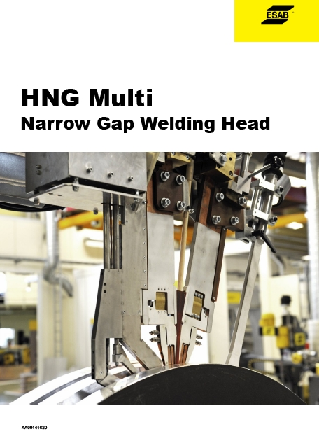 HNG Multi Narrow Gap Welding Head